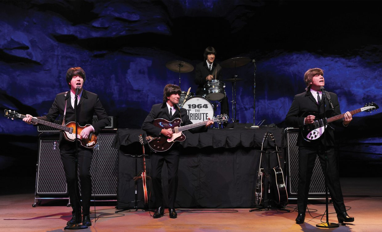 1964 ... The Tribute, a Beatles tribute band, will play a special installment of the Free Summer Concert Series. The concert is set to start at 8:30 p.m. on the Fourth of July at Howelsen Hill, but organizers will look at holding the concert on another day that week because of issues raised by the Steamboat Springs Pro Rodeo Series Board of Directors.
