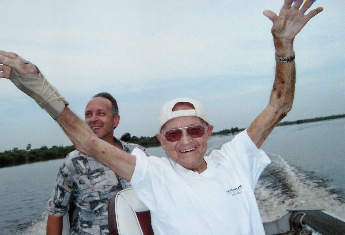 Longtime South Routt resident and South Routt School district superintendent Bill Meek moved to Florida in 2002 for health reasons, but never lost his passion for fishing. He is pictured here enjoying a day on the water in 2010.