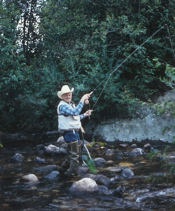 Bill Meek always felt at home on the water.
