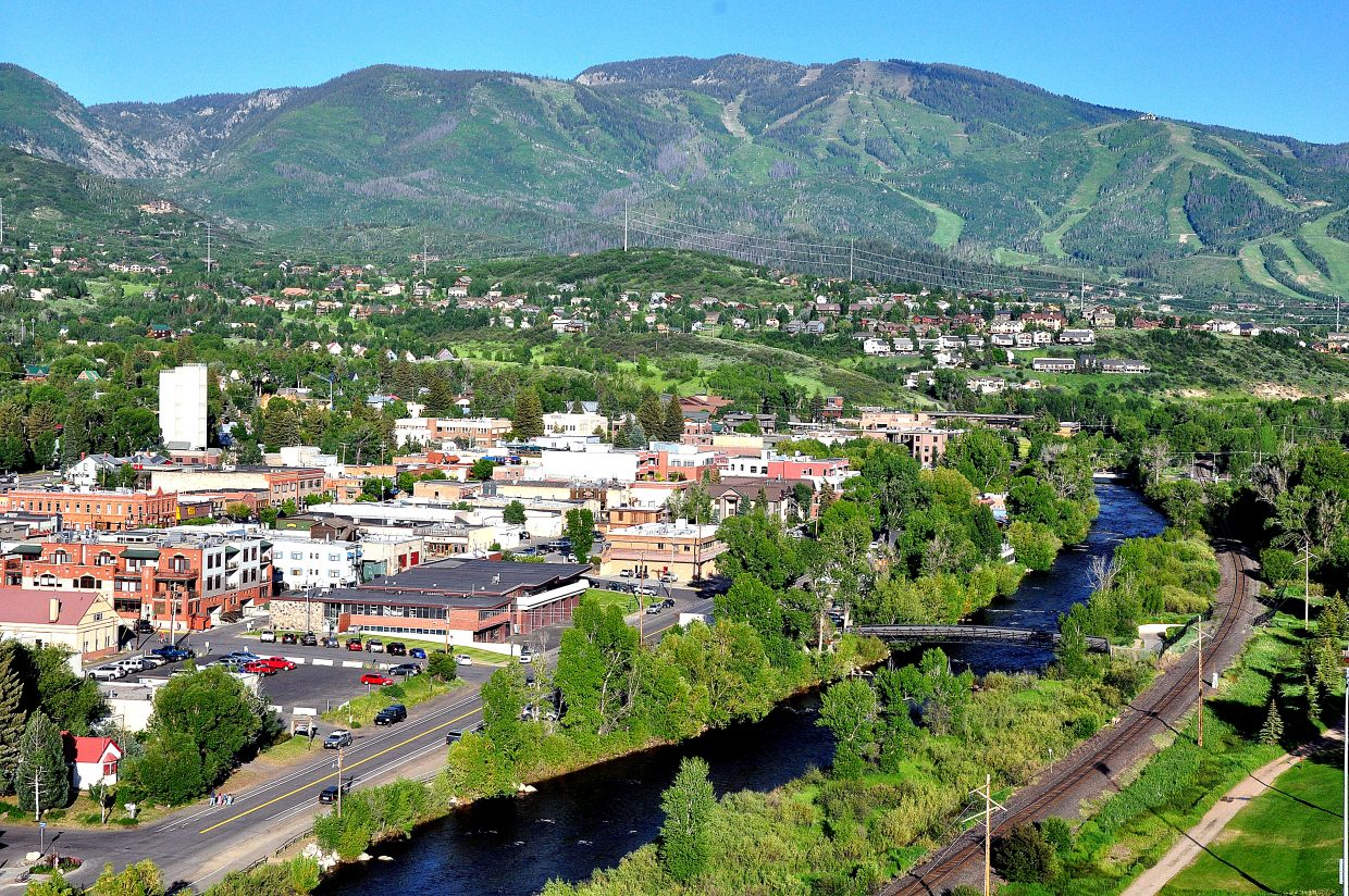 Stand on a bluff at the north end of downtown, and you can see Yampa Street in all its glory. Kayakers play in the rapids as cyclists and walkers stroll down a street full of restaurants, bars and tubing outfitters.