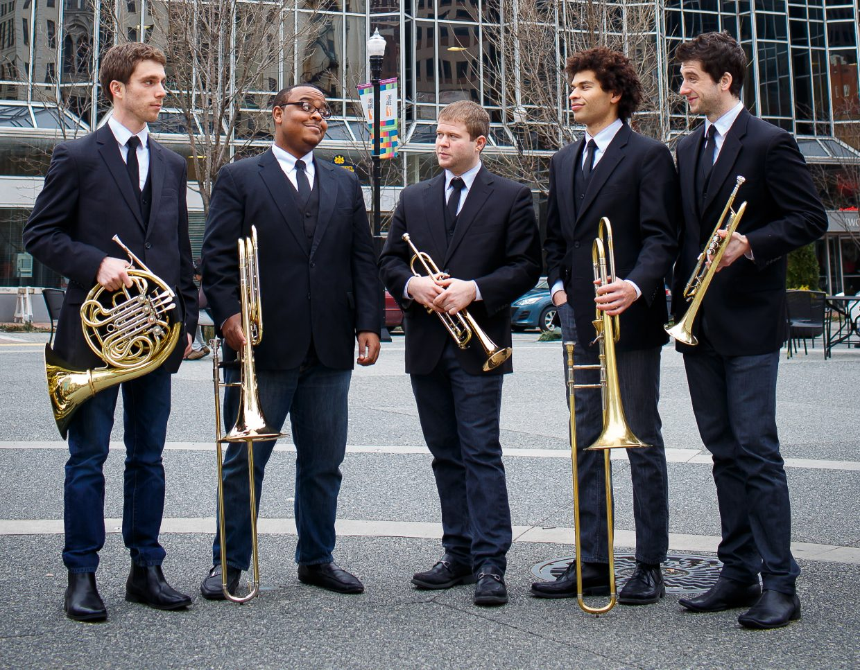 C Street Brass are this summer's Young Artists in Residence, and they will be in Steamboat Springs for three weeks while performing in various Strings Music Festival programs.