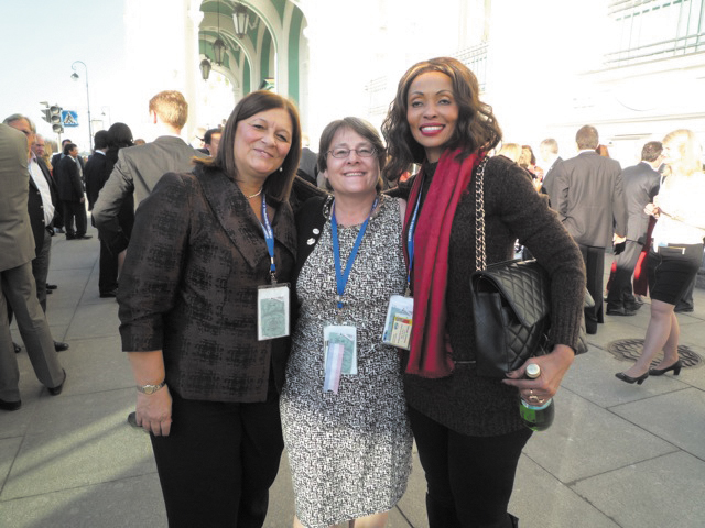 Joanne Erickson, of Colorado Group Realty, developed contacts with Realtors from Argentina and Tanzania during an international conference in St. Petersburg, Russia, this spring.