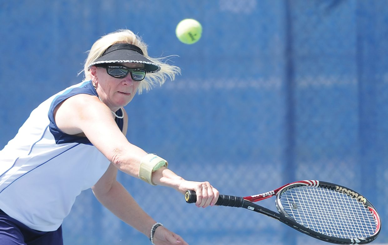 The Steamboat Tennis Association will host a tennis social from 3-5 p.m. this Sunday at the Tennis Center at Steamboat Springs.