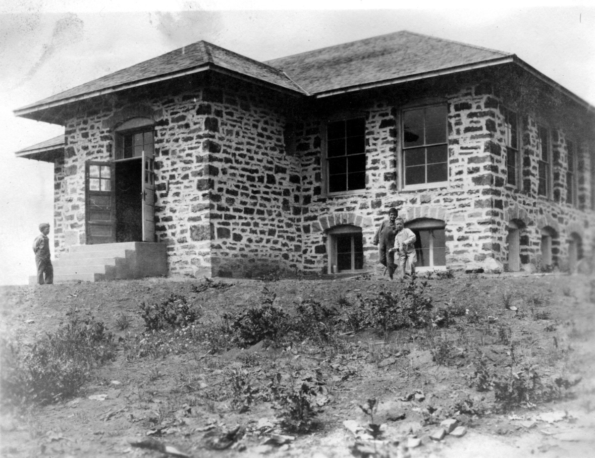 The Elkhead Schoolhouse is pictured here circa 1917. The schoolhouse is on private land but will be open for a public tour during Hayden Heritage Weekend next week.