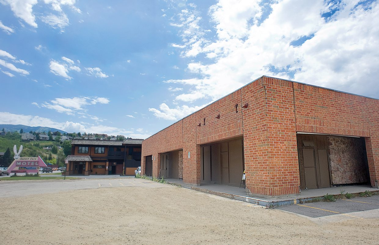 Green Courte Partners has offered this property at Third Street and Lincoln Avenue to Mainstreet Steamboat Springs for temporary commercial use. The building previously housed Stremel's convenience store and Blimpie but has been empty for years.