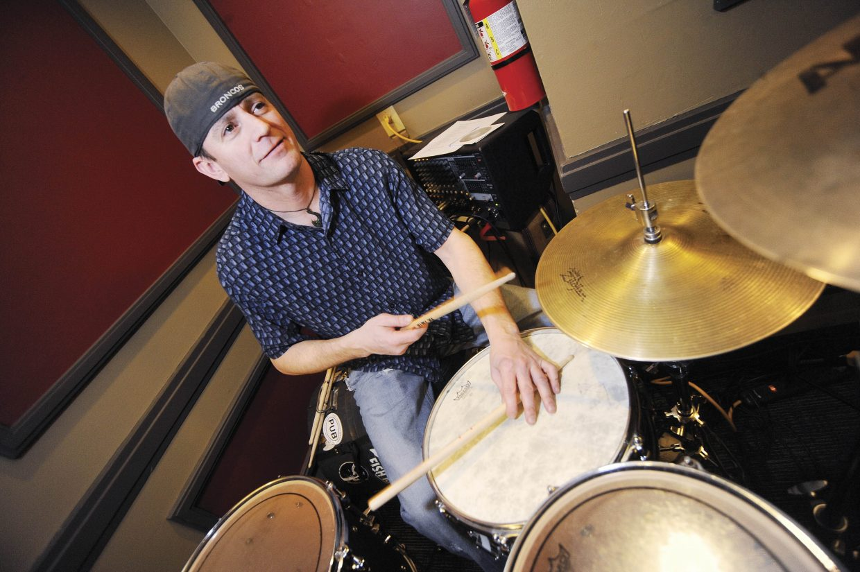 Eric Berry, or EB, is known for performing in the local band EB and Friends. He and Eric Martinez will perform a rock 'n' roll duo set at 10 p.m. Saturday at Old Town Pub and Restaurant. EB will be on drums, and Martinez will be on guitar and vocals.