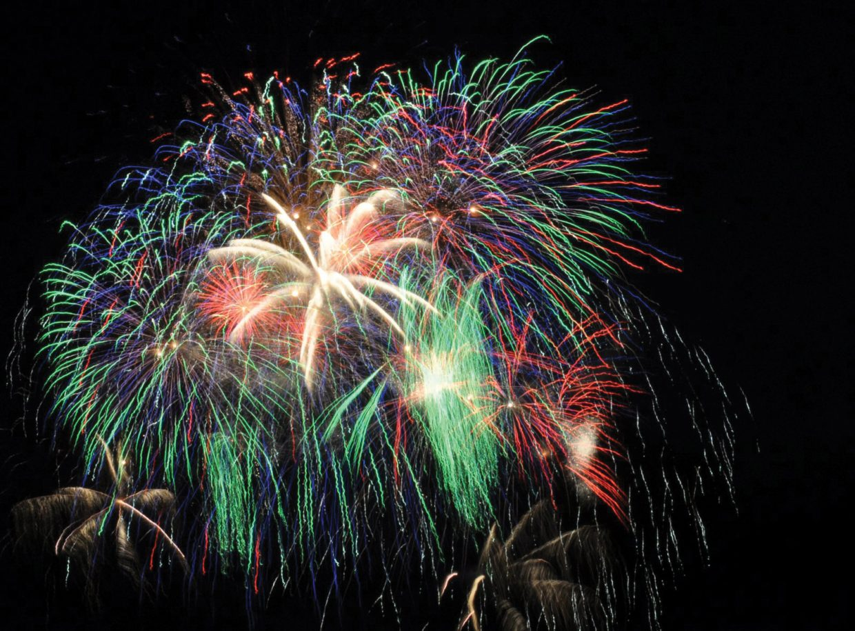 Fireworks a go for July 4th in Steamboat as fire risk dips to low