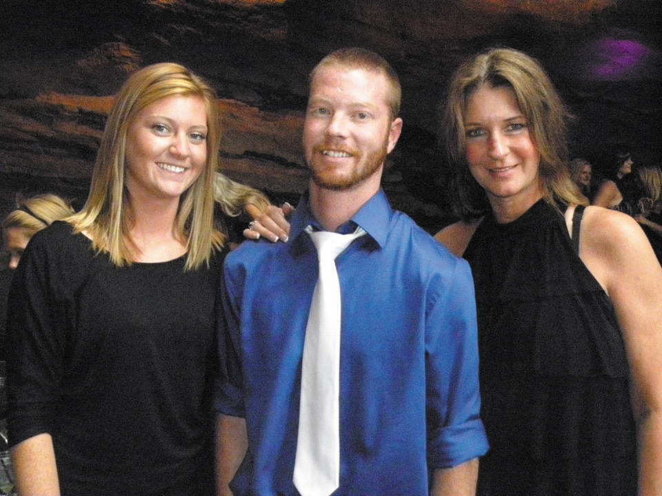 Shelly Norris, right, died Saturday in a rollover crash on Rabbit Ears Pass. She's seen with her daughter, Haley, left, and her son, J.T., center.