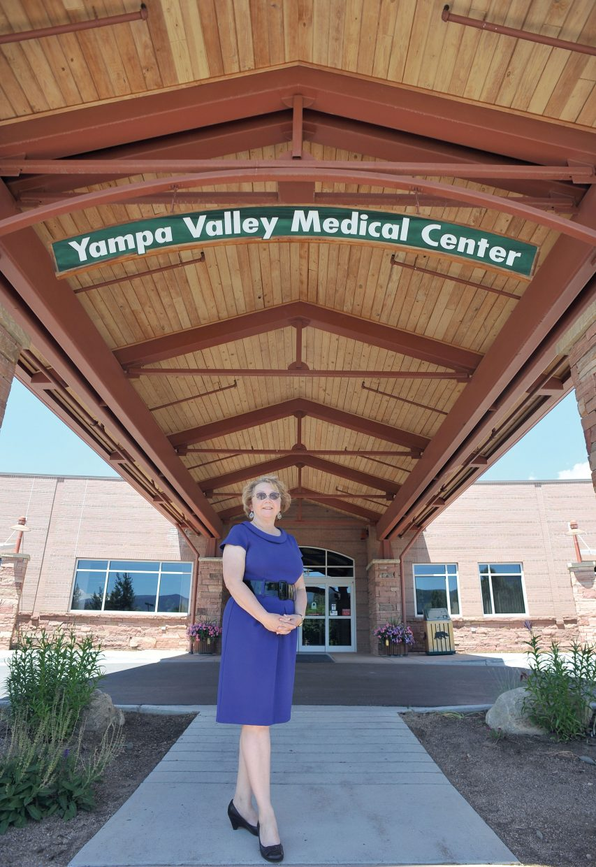 Longtime local Christine McKelvie is retiring Tuesday from Yampa Valley Medical Center. Mckelvie spent 30 years as head of communications with Routt Memorial Hospital and Yampa Valley Medical Center.