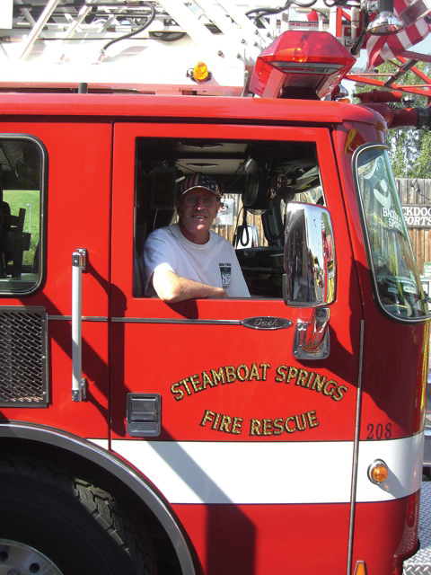 When Joanne Palmer's brother says he's going to do something, it usually gets done. Like when he said he would ride in the fire truck during Steamboat's Fourth of July parade.