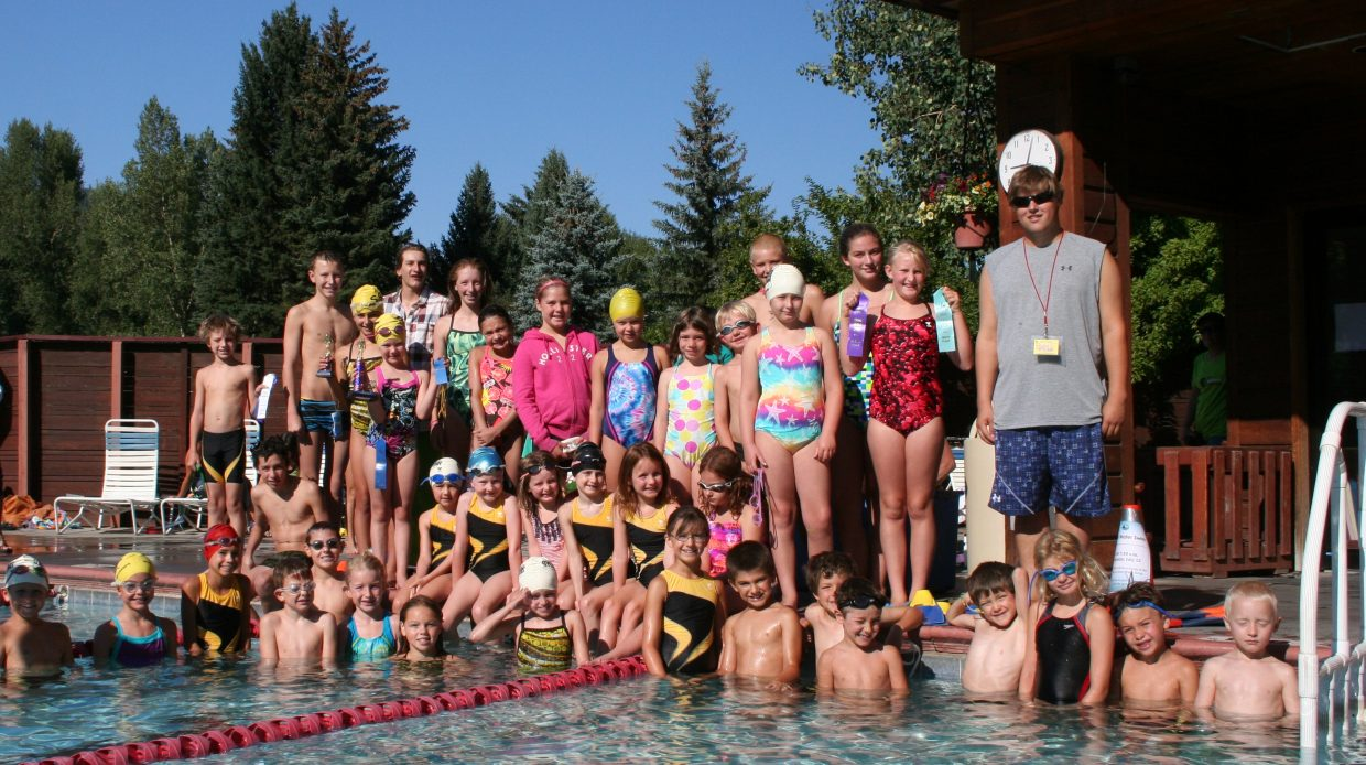 The Steamboat Springs Swim Team had 57 swimmers compete in a three-day meet in Craig during the weekend. The team had four swimmers finish as high point winners. Wally Magill, 9, Tyler Paoli, 11, Isabella O'Reilly, 8, and Sean Portman, 13, all were high point winners. Also finishing first in at least one event were Erik Belshaw, Brooks Birkinbine, Caiden Dardanis, Chase High, Ellery Hodges, Jade Holman, Isabella Holt, Riley Jacobs, Alta Kaster, Abigail Linner, Saige Lottes, Mickinley McAtee, Jackson Metzler, Grace O'Reilly, Margaret Reymore, Travis Seitz, Ella Stroock, Jack Strotbeck, Kirstin Van Maurik and Daisy Wilson.