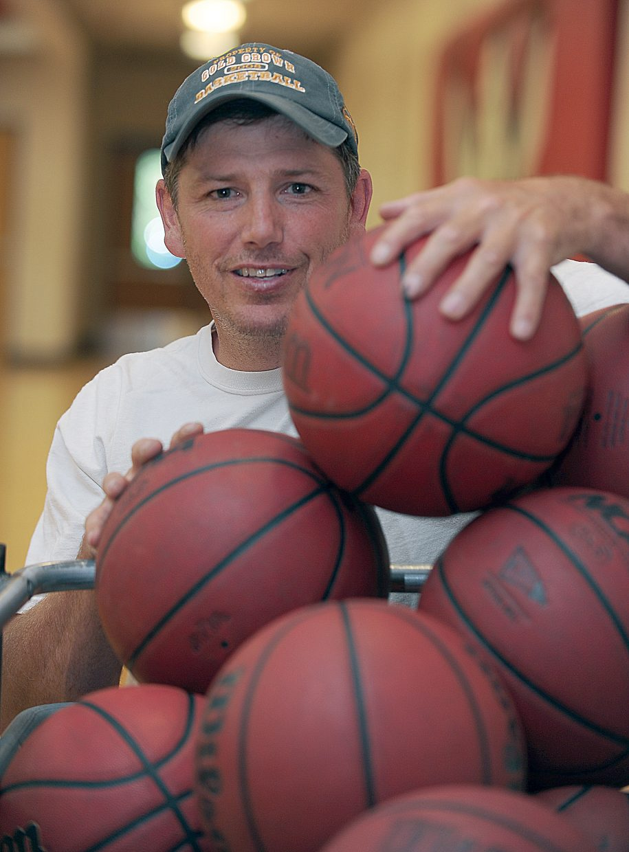 Mack Spittellie takes on the role of head coach for the Steamboat Springs High School girls basketball team.