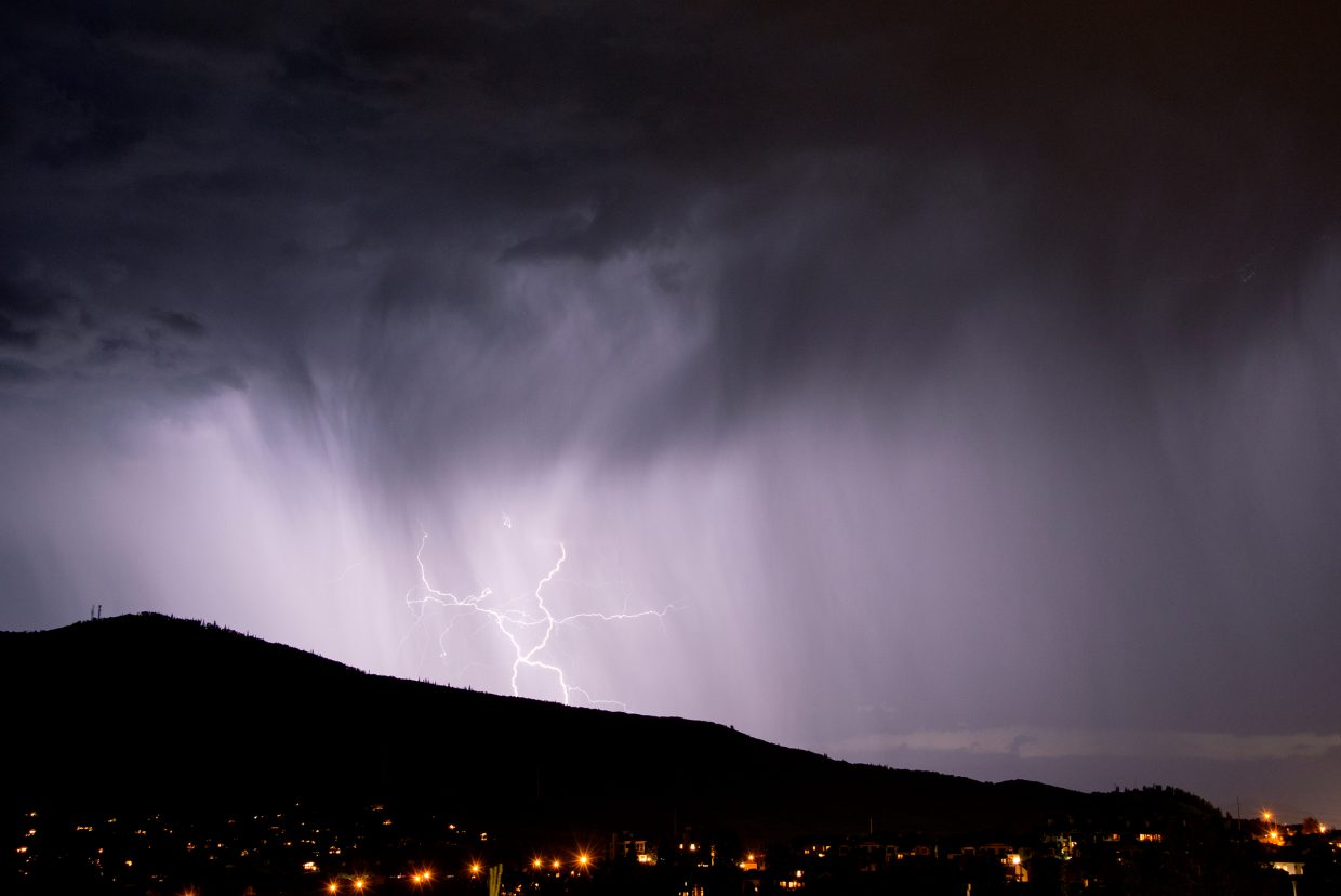 Steamboat Today reader Todd Sowers submitted this photo of lightning Wednesday over Steamboat Springs. Do you have a photo to share? Send it to share@SteamboatToday.com.