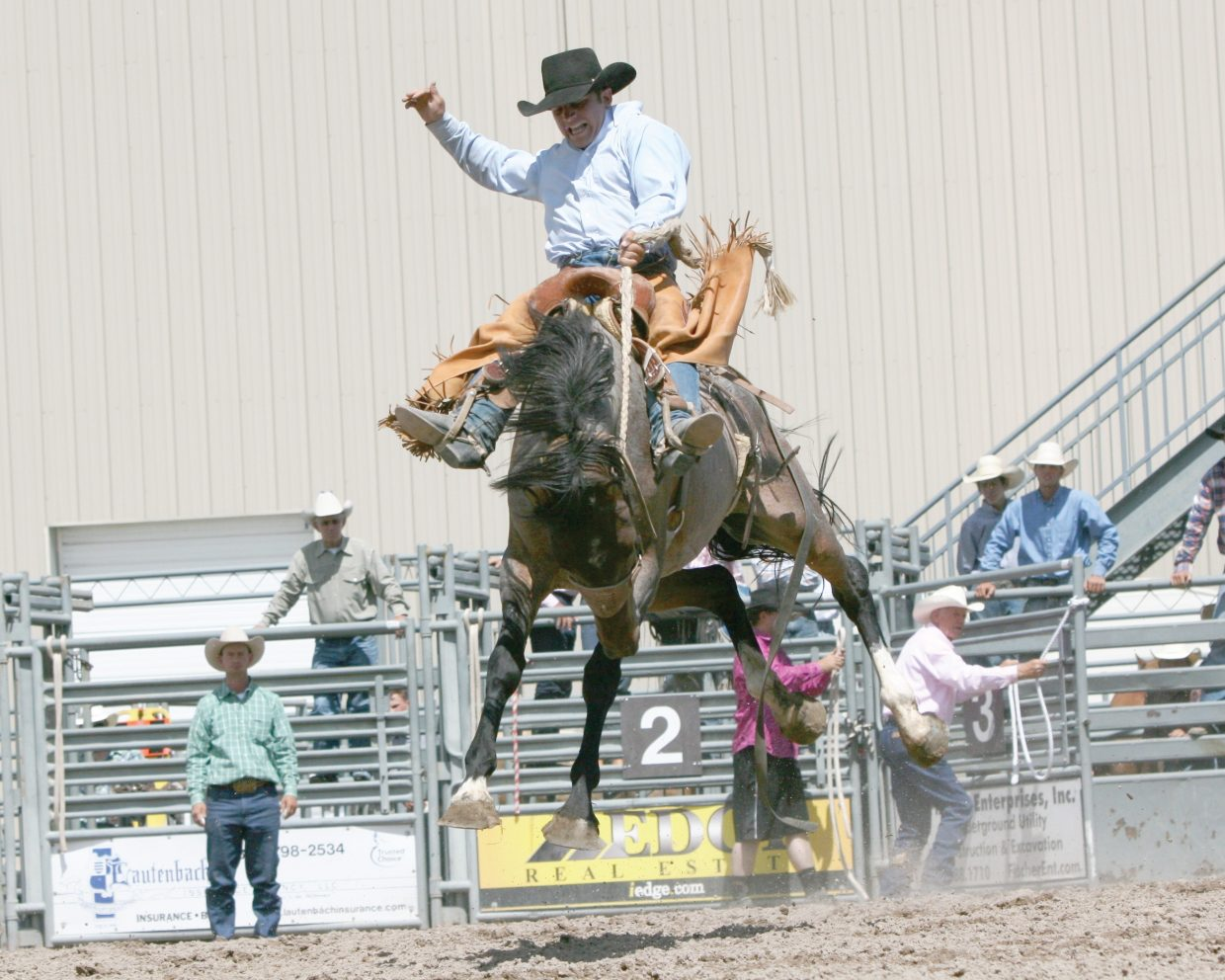 Travis Darling, who was killed in a car crash in October, will be memorialized during a saddle bronc ride competition at this weekend's rodeo performances.