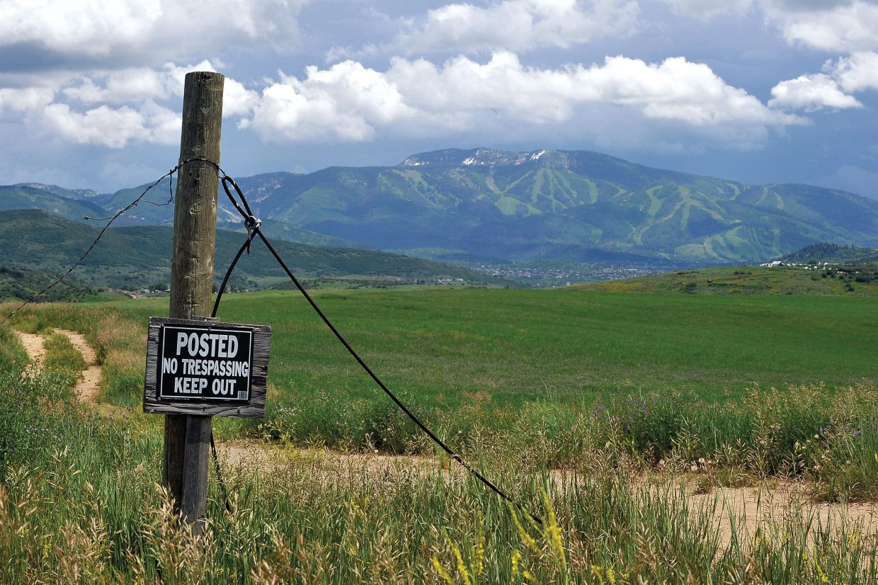 Steamboat 700, the 536-acre development parcel rejected for annexation by city voters in March 2010, was put back on the market with an asking price of $30 million.