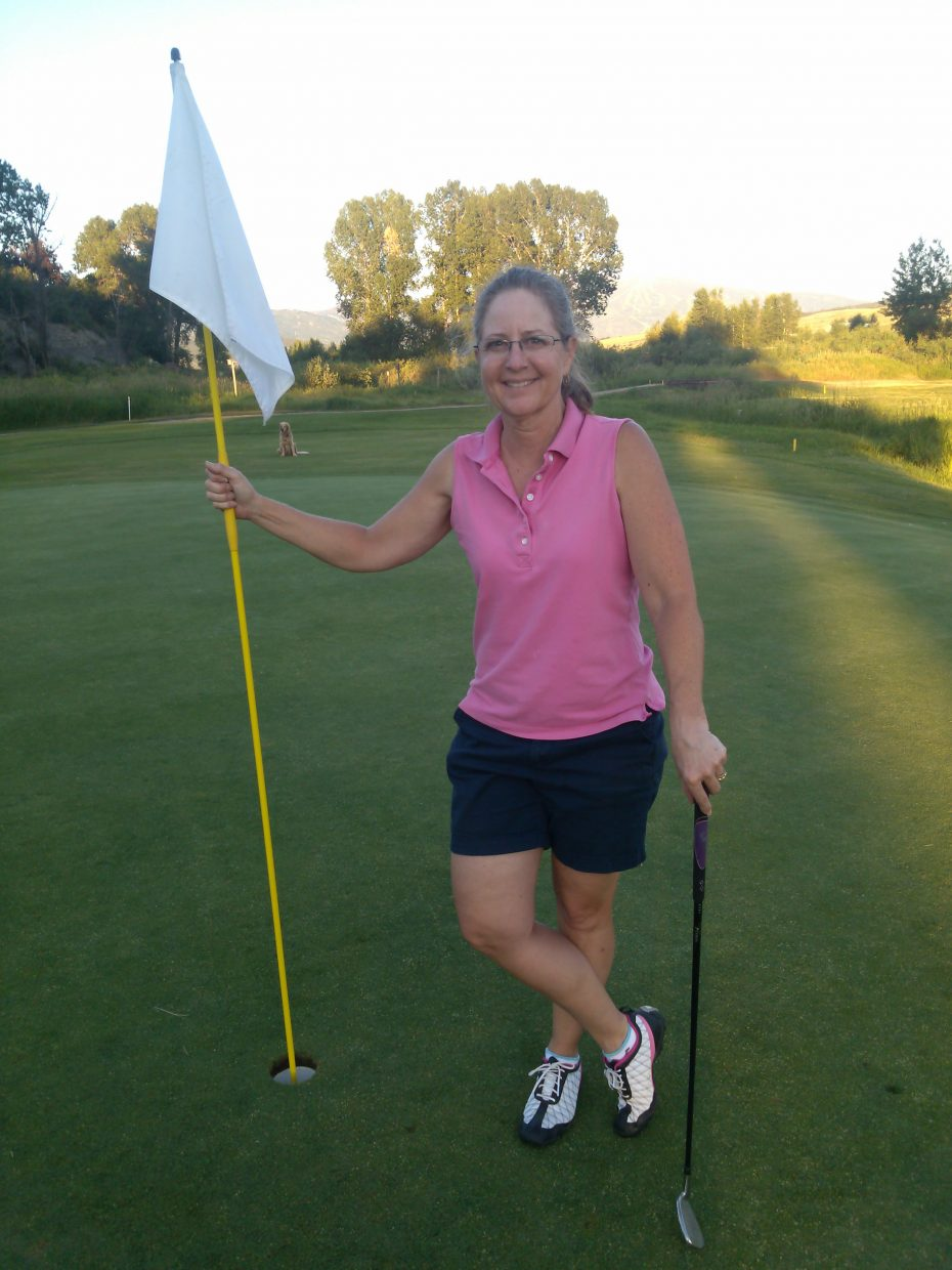 Steamboat's Liz Langley recorded her first hole-in-one Tuesday at Steamboat Golf Club's third hole.