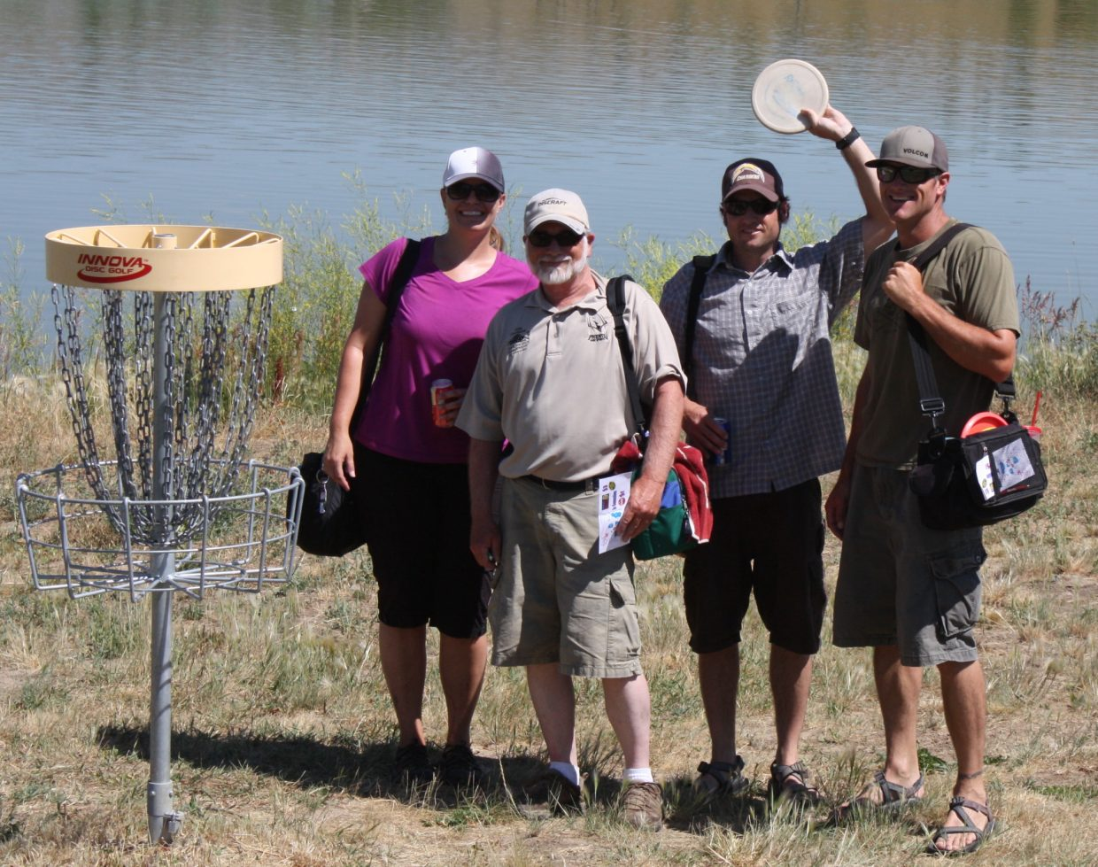 A disc golf tournament was one of several events held as part of Hayden Daze, which took place Friday and Saturday.