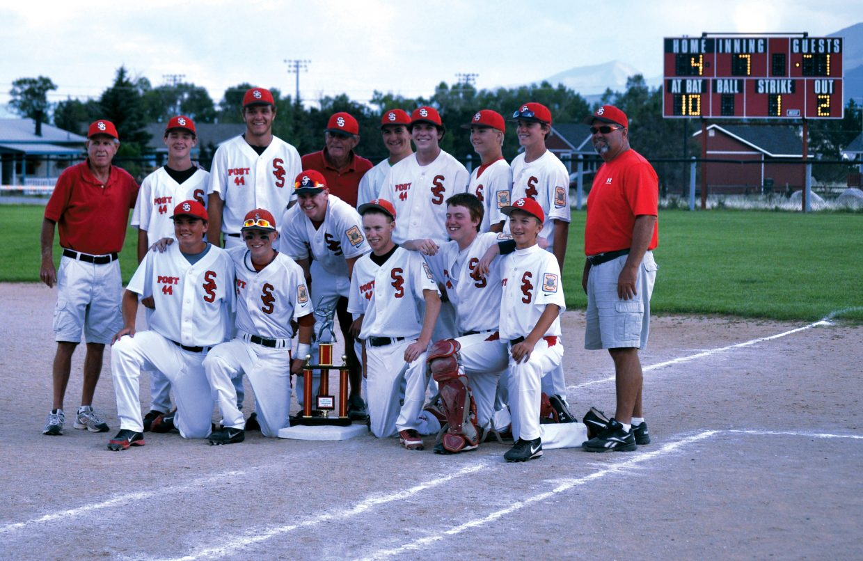 The Steamboat Springs American Legion Post 44 baseball team was able to overcome an 8-3 loss to Summit County in the opening round to win the tournament with victories over Buena Vista, Glenwood Springs and Summit County.