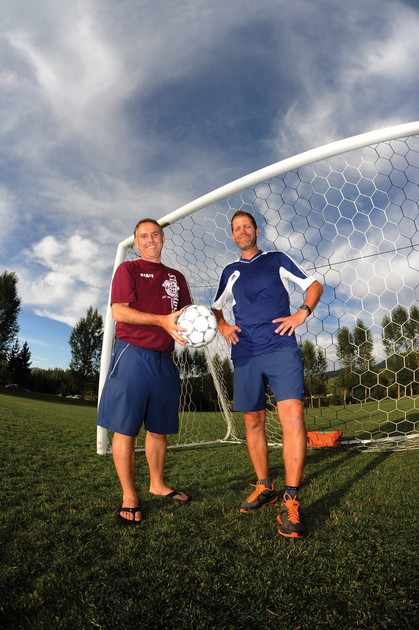 For the past 20 years, soccer in this region has been defined by two teams and the two coaches who have led those programs. Battle Mountain's Dave Cope, left, and Steamboat's Rob Bohlmann have created a dynamic soccer culture while cultivating a unique rivalry.