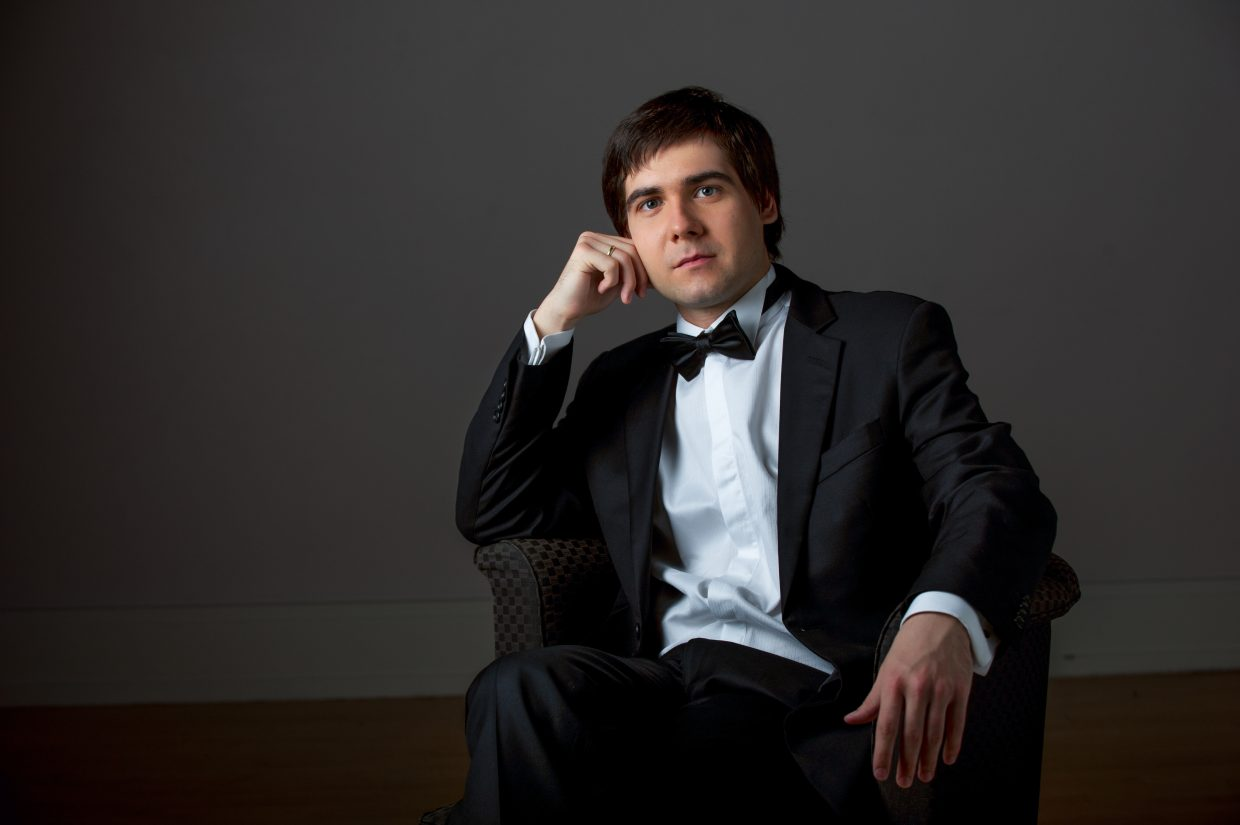 Vadym Kholodenko will perform a solo piano recital, including works of Rachmaninoff and Chopin, at the Strings Music Pavilion at 6 p.m. Wednesday.