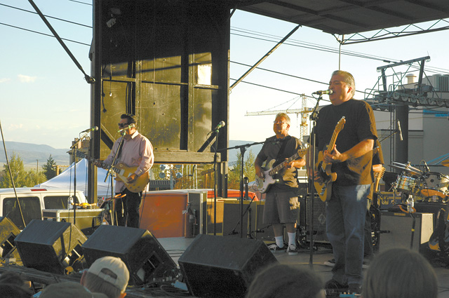 Los Lobos played an ecletic mix of music for a festive crowd at the base of the Steamboat Ski Area on Thursday. The show was part of the Free Summer Concert Series.