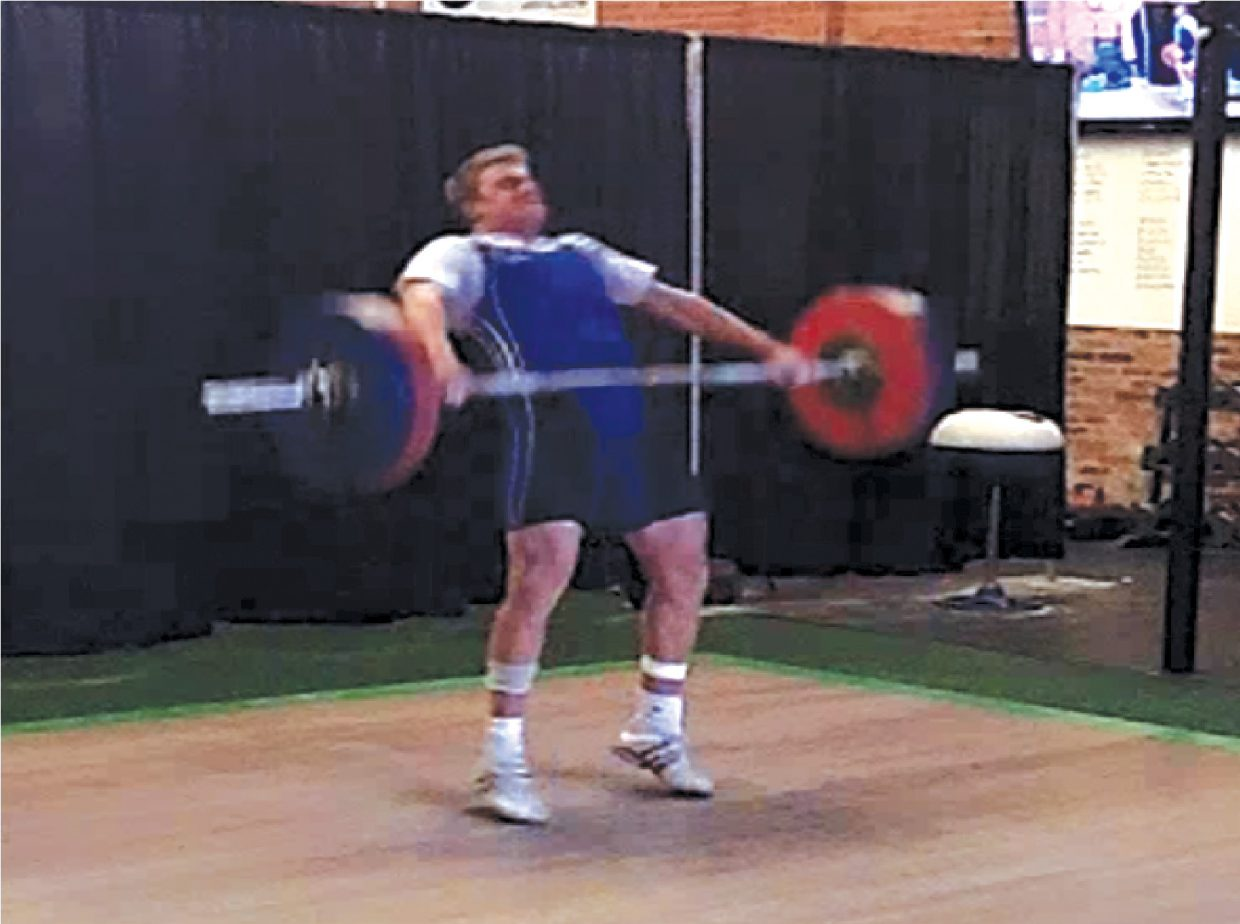 Steamboat's Ben Wetzel took home gold in the 85 kilogram (187 pounds) weight class at the Rocky Mountain State Games weightlifting competition in July.