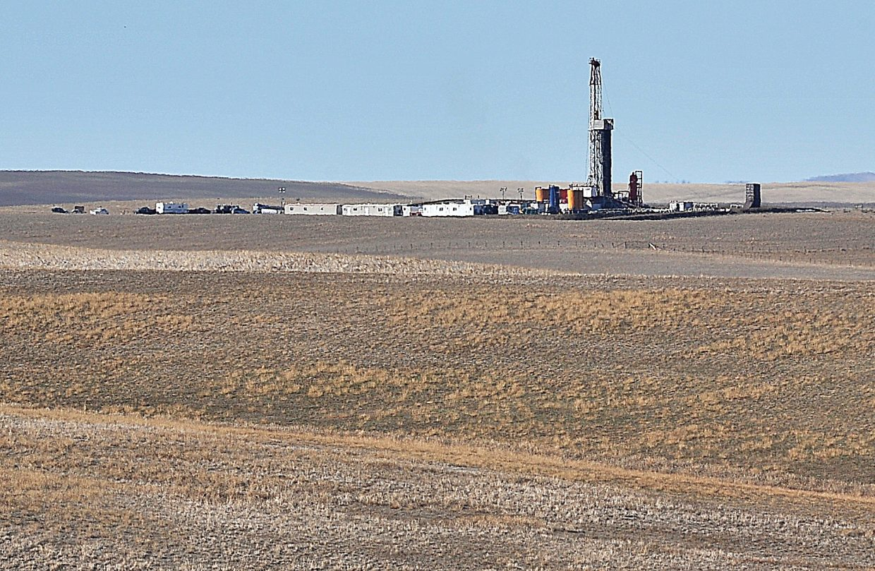 Shell Oil plans to market off its assets in Routt and Moffat counties to focus on its more productive oil plays. Shell drilled the Dawson Creek well, above, last year near Yampa Valley Regional Airport.