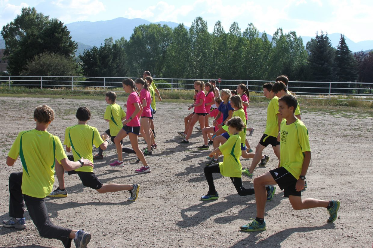 Coaches from the national Run SMART Project were in Steamboat Springs this week to work with high school students. The camp came to an end Saturday.