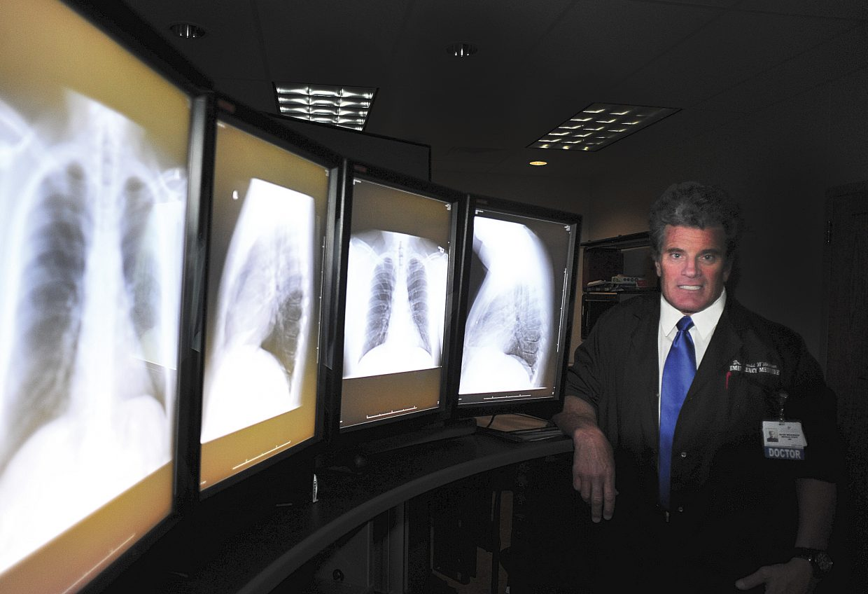 Dr. Dave Wilkinson has been an emergency room doctor in Steamboat Springs for 30 years.