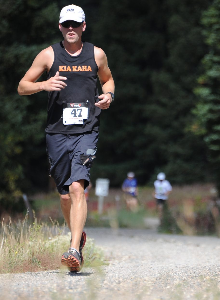 Matt Stensland runs Sunday in the 10K at 10,000 Feet on Rabbit Ears Pass.