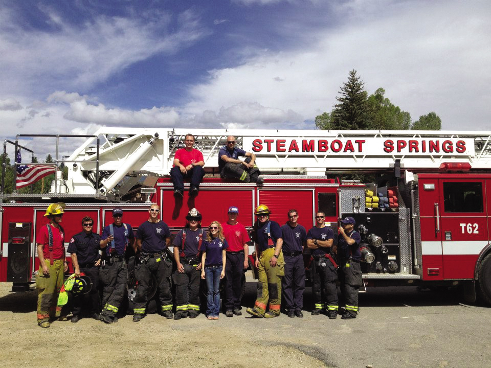 The Steamboat Springs Fire Rescue raised $16,173 through its Fill the Boot fundraising campaign that was held Labor Day.