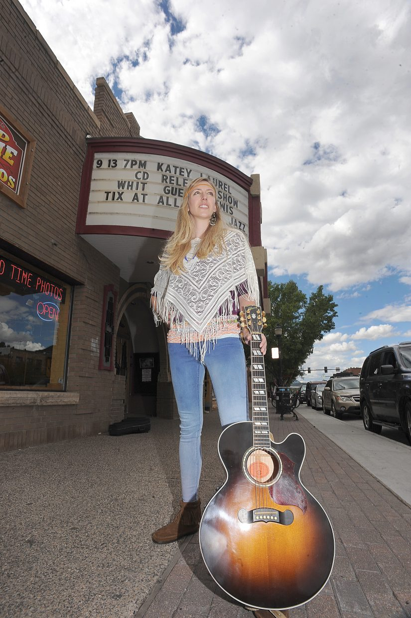 "Katey Laurel, who grew up in South Routt County, will announce the release of her latest CD, ""Periscope,"" on Friday evening during a 7 p.m. performance at the Chief Theater in downtown Steamboat Springs."