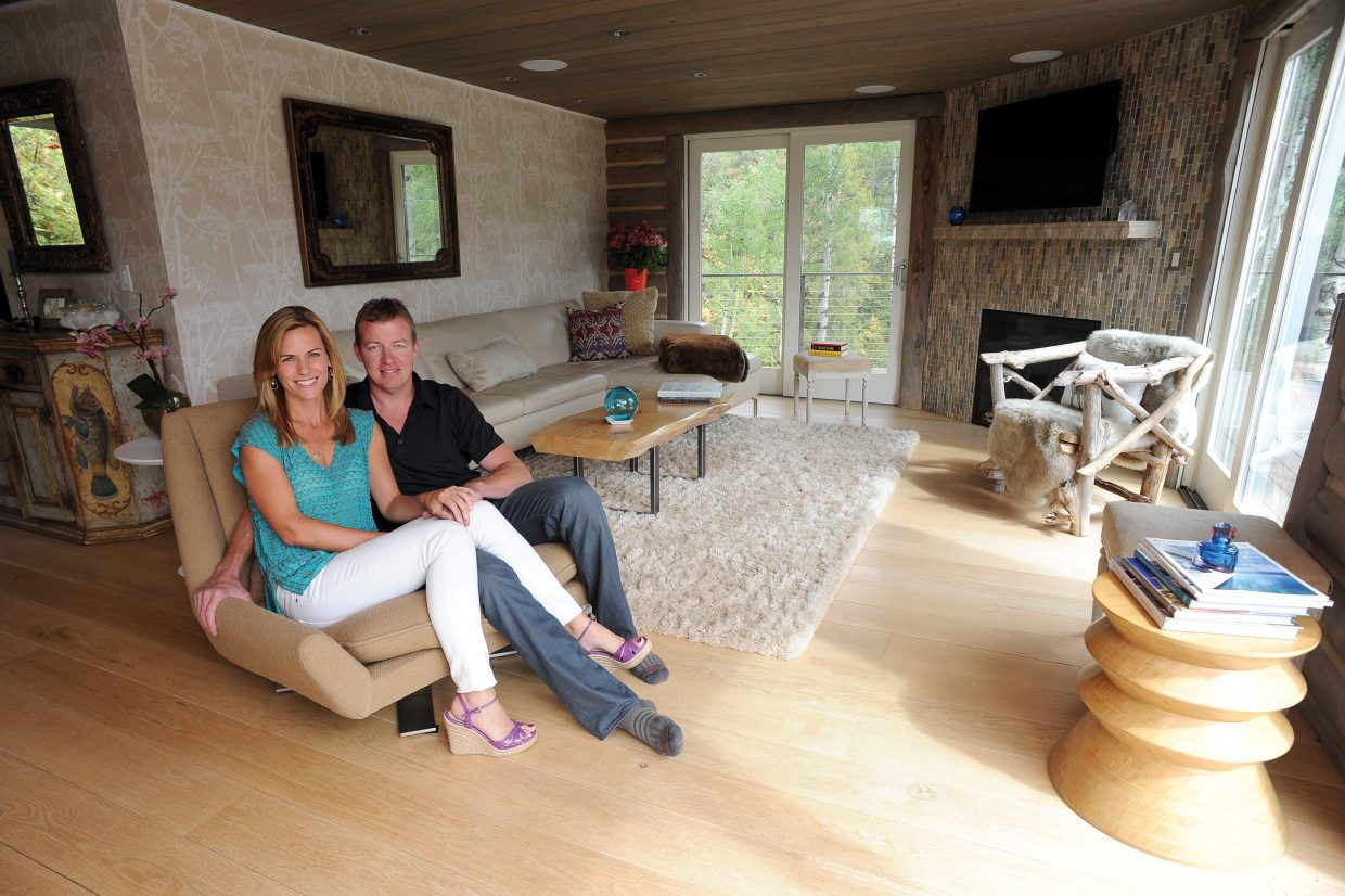 Susse Budde and Corey Larsen, who make up Dimension Fine Homes, have been getting a lot of attention lately for their work. Budde's own home in Strawberry Park (pictured) will be featured in Colorado Homes & Lifestyles magazine in January.