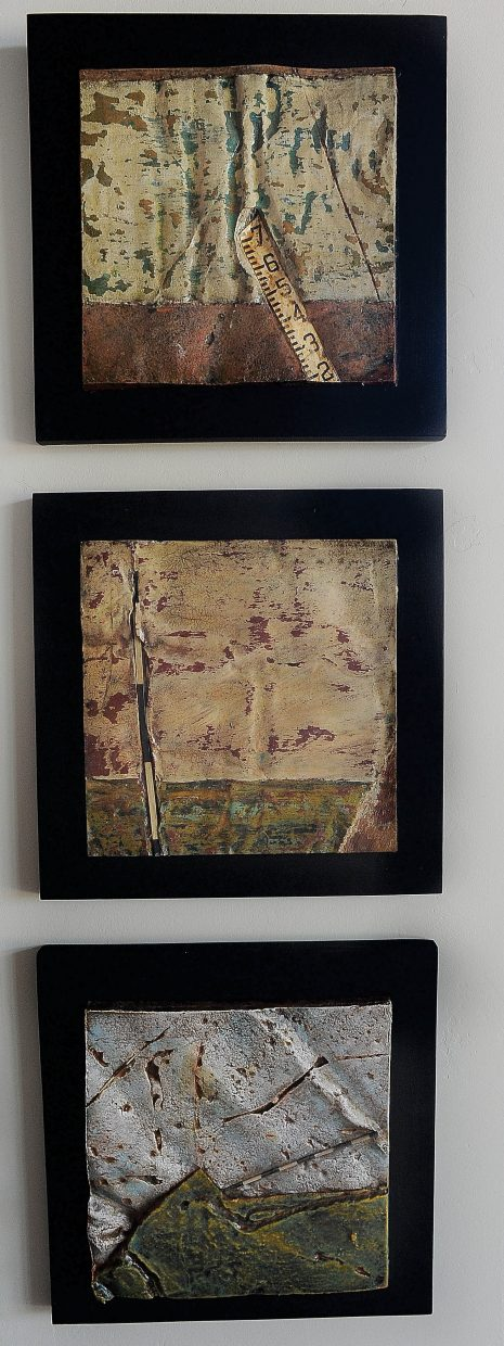 The artwork of Ray Tomasso is featured at the Vertical Arts Architecture in Steamboat Springs.