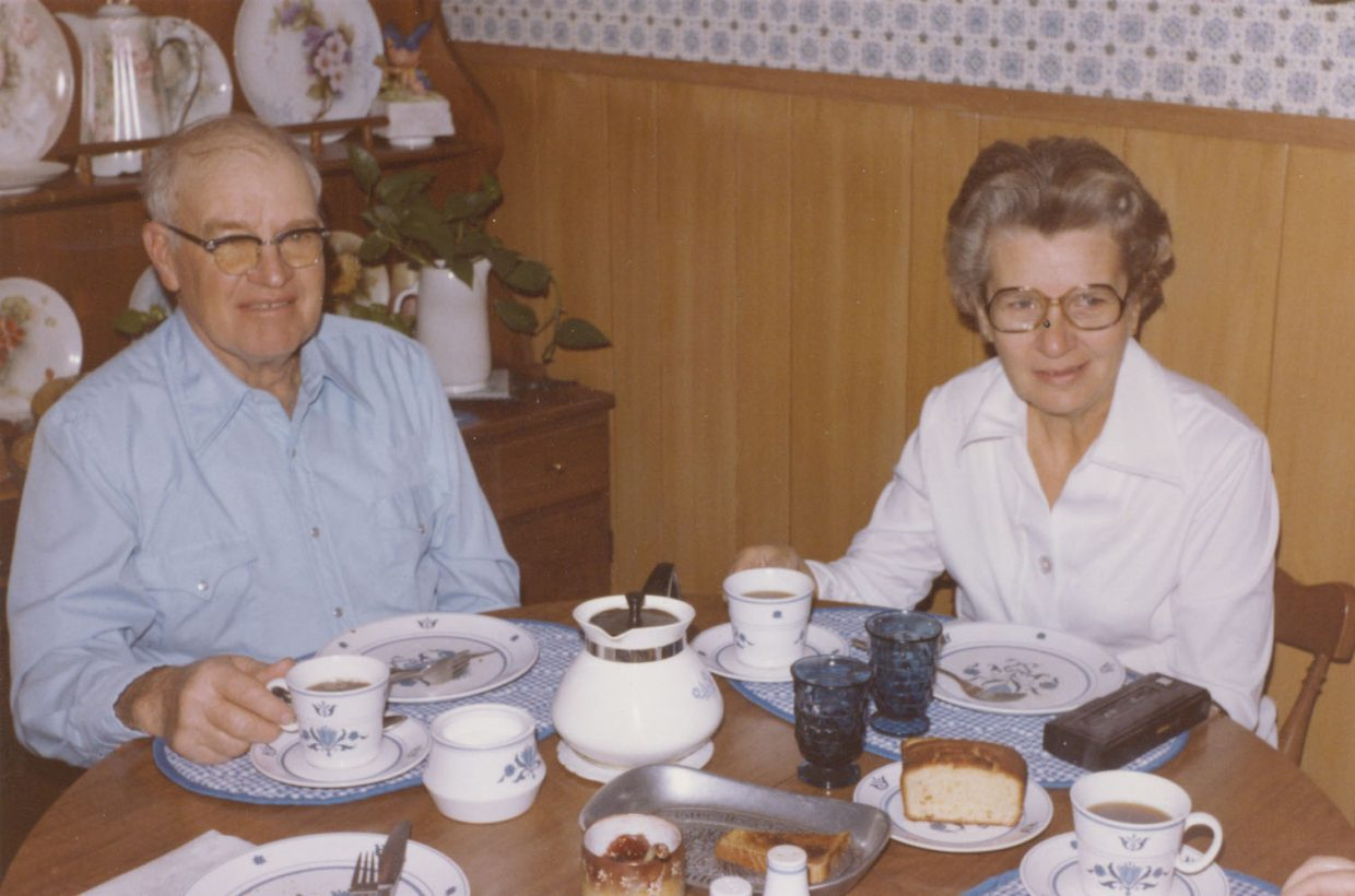 Lewis and Betty Kemry shown in December 1981.