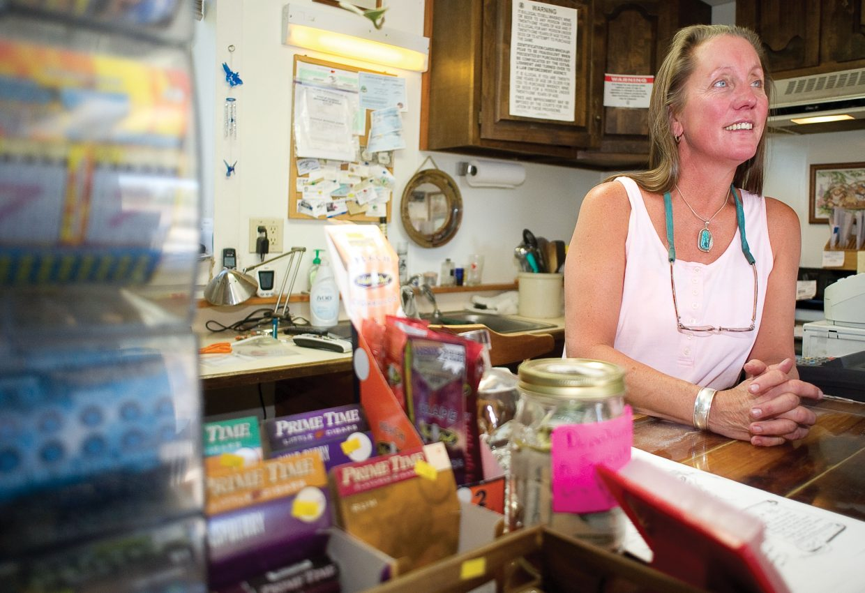 Teresa Northrop, owner of the Little Beavers Liquor Store in Yampa, said that business has been picking up a little but that the town has felt the impacts of the economic recession the past few years. She is hoping that another strong rifle season will keep customers coming through the doors.