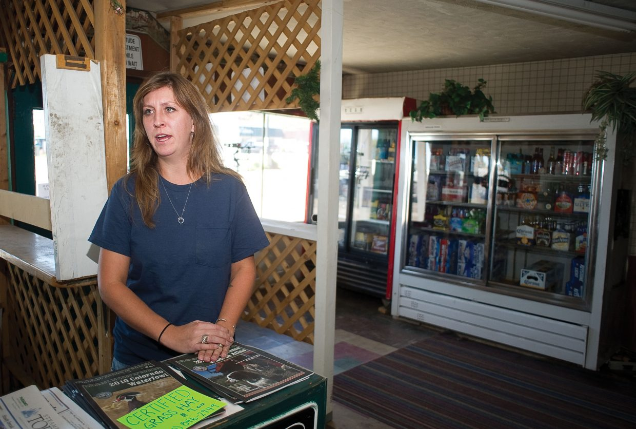 Hunters have keep things rolling at the Royal Hotel and Bar in Yampa. Stephanie Christ, who manages the property, which includes the hotel, bar and a liquor store, said she is hoping to see more hunters in the next couple of weeks.