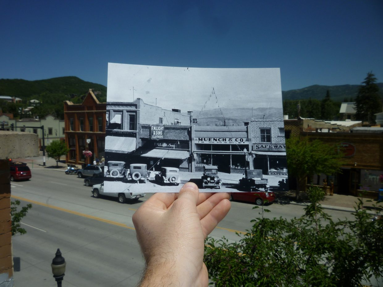 Remember when F.M. Light & Sons wasn't located in downtown Steamboat Springs? Neither do we. Photo dated 1920.