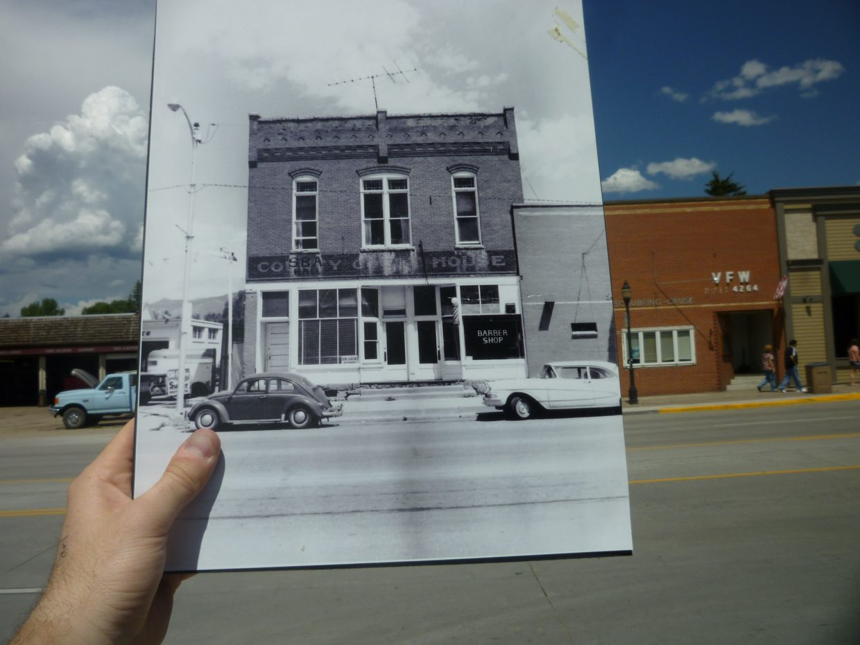 Remember when the Lorenz building became offices? It was the old Routt County Courthouse after first serving as a general store. Photo circa 1960s courtesy of the Tread of Pioneers Museum.