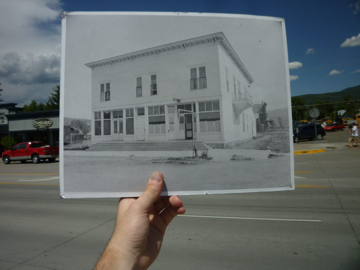 Remember when the Old Town Pub used to be a doctor's office? Photo dated 1916 courtesy of the Tread of Pioneers Museum.