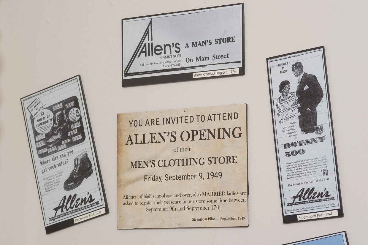 """Foundations of Steamboat,"" a new Tread of Pioneers Museum exhibit about the Allen family's history in Steamboat Springs, will be on display for a year."