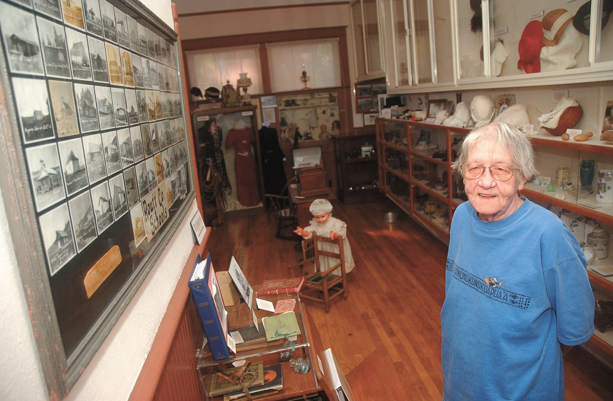 Hayden resident Jan Leslie wrote books about Hayden and helped chronicle the town's history. She died Wednesday at the age of 72.