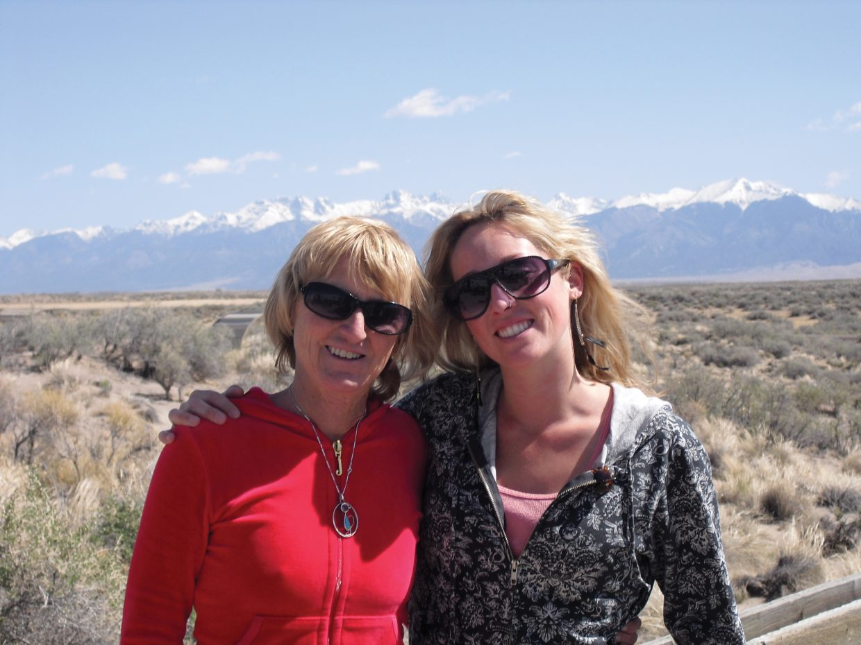 Steamboat Springs High School graduate Julie Keenan, right, took her mother, Ruthie Erickson, camping at Great Sand Dunes National Park in 2010, eight years after she was diagnosed with early-onset Alzheimer's disease. She died Oct. 3.