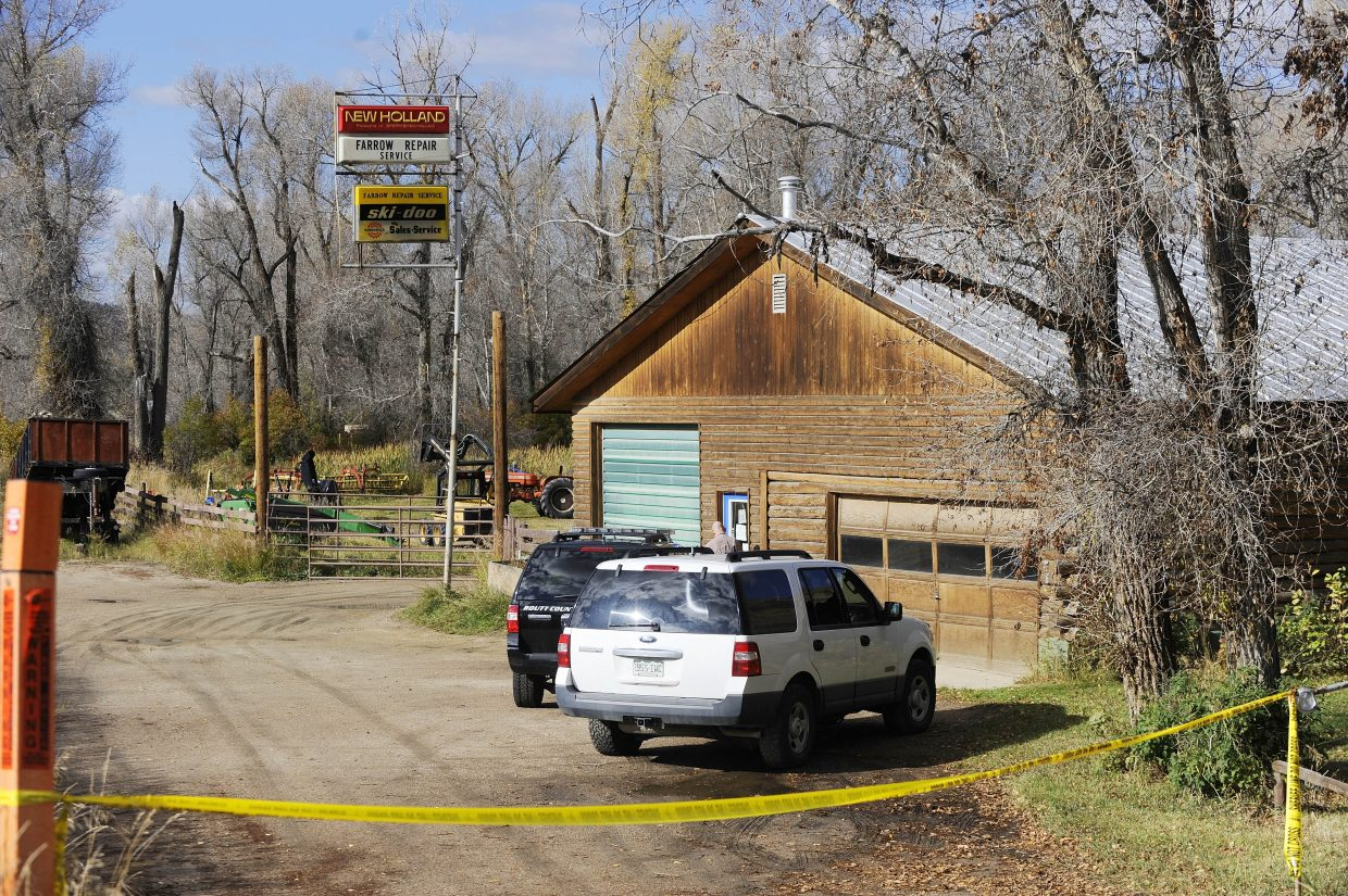 Routt County Sheriff's Office deputies on Wednesday morning were investigating a burglary thought to have occurred overnight at Farrow Repair Service along U.S. Highway 40 west of Steamboat Springs.