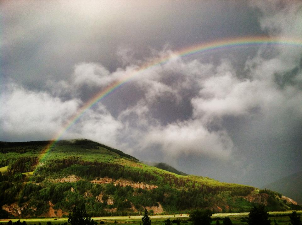 Rainbow weekend. Submitted by: Maryedith Davies