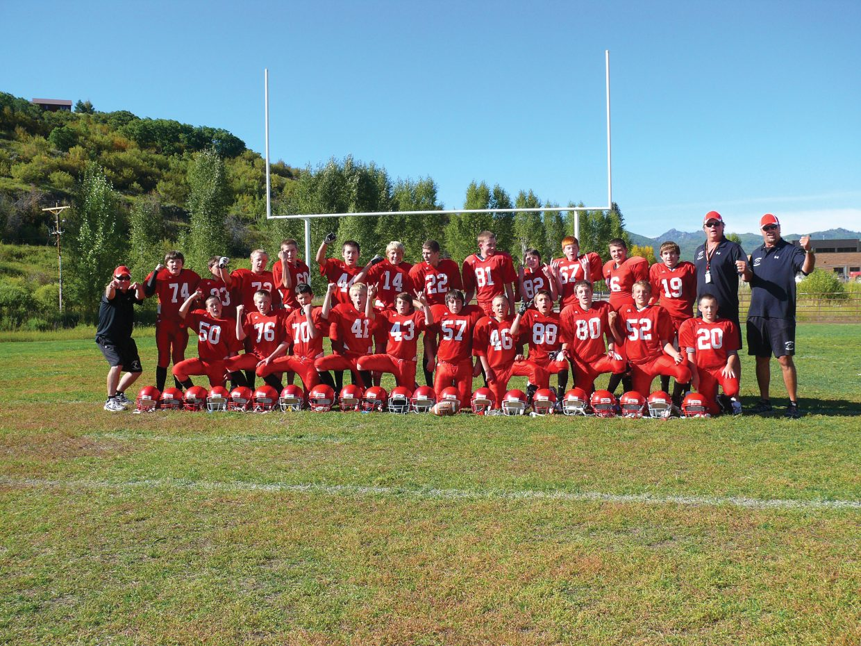 The Steamboat Springs eighth-grade football team went 5-2 on the year.