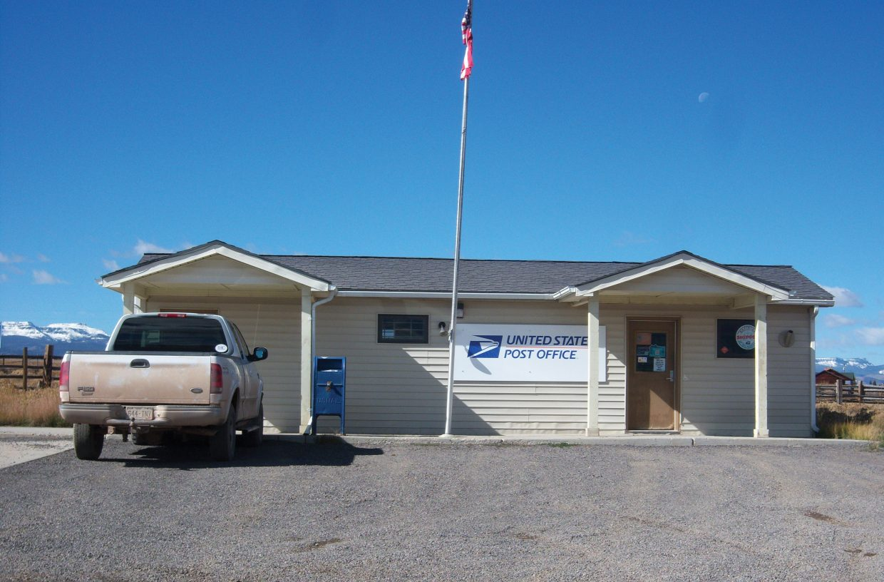The Toponas Post Office is one of about 80 Colorado post offices that are being considered for closure by the U.S. Postal Service. This is the second round of closure feasibility studies. The first round, which began at the beginning of summer, included Phippsburg.