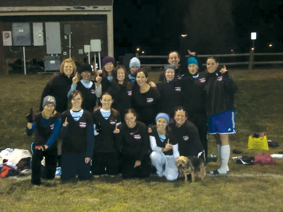 Steamboat Medical won the women's soccer league, 4-2, on penalty kicks Tuesday night at Ski Town Fields. The team defeated Hungry Dog for the title.