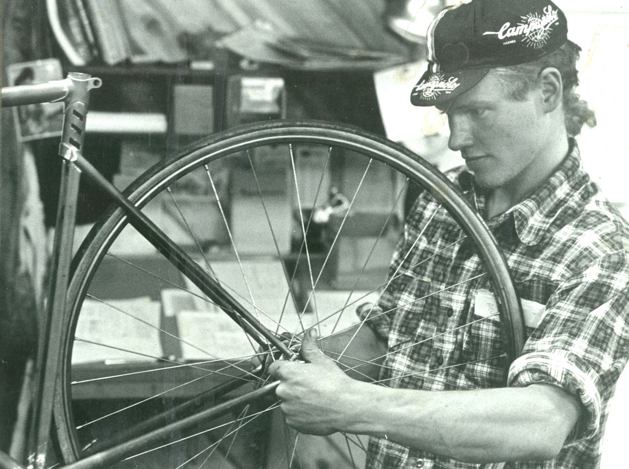 Kent Eriksen started in the bicycle industry in Steamboat Springs in 1975, first with a bike shop, and later the bike building business that became Moots.