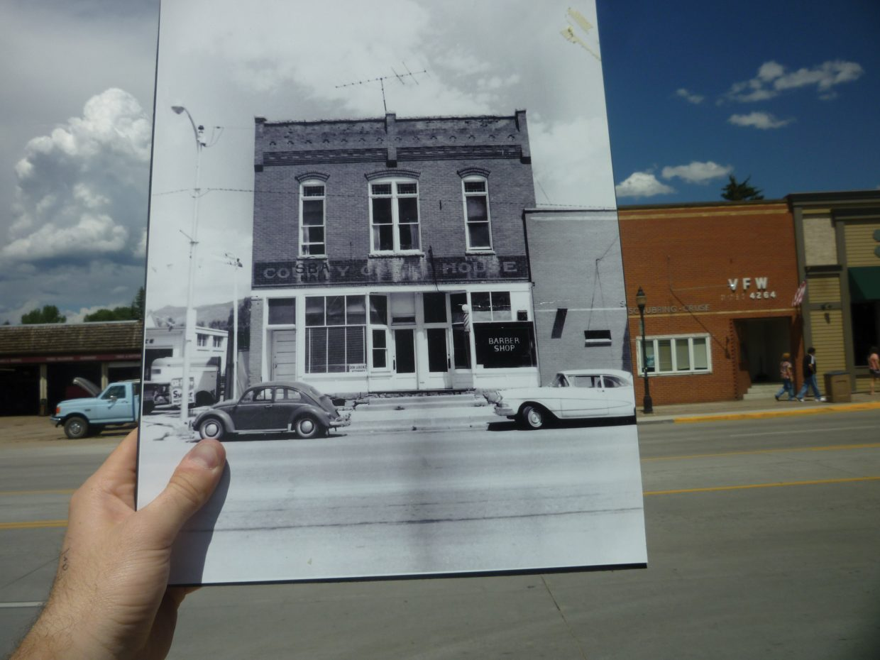 "Remember when the Lorenz Building on Lincoln Avenue in downtown Steamboat became an office building? It was the old Routt County Courthouse after first serving as a general store. This photo, circa the 1960s, is courtesy of the Tread of Pioneers Museum. The Steamboat Pilot & Today has launched a community photo project called ""Remember When?"" We want you to dig through your old photos, go to the location they were taken and snap a new image of you holding the old picture. We'll post your pictures to our Remember When? photo gallery on SteamboatToday.com and to our Facebook page. Email your submissions to share@SteamboatToday.com."